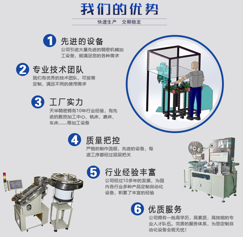非标自动化设备定做厂家